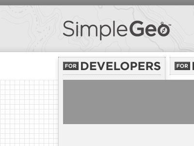 Grayscale Gridtastic gray simplegeo