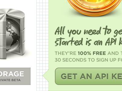 Get an API key simplegeo website