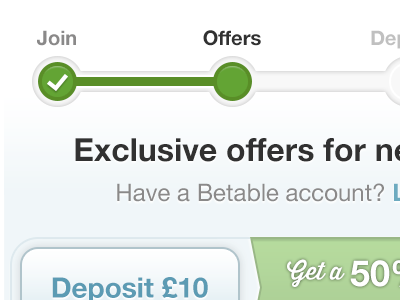 Offers onboarding mobile