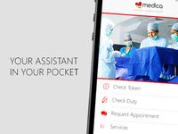 Medica Mobile App Mockup