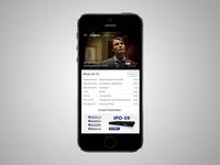 Medianet Mobile App Mockup