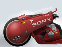 Kaneda´s bike 01. Akira