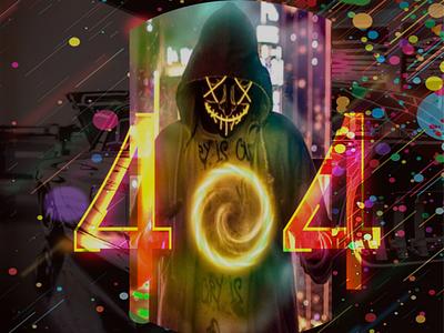404 vector illustration typography logo web minimal ux ui design branding