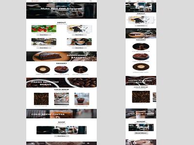 responsive coffee web
