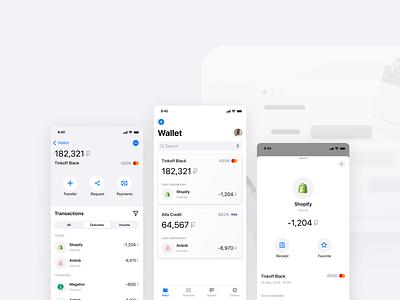 Multiwallet app wallet ios card bank fintech trend ux app mobile