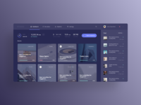 Dashboard for cryptocurrency trading