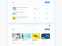 Charity platform dashboard based on blockchain technology