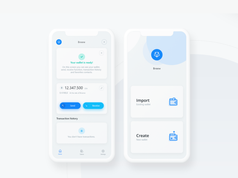 how to create cryptocurrency wallet app