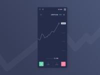 Trading platform mobile concept 2.0