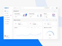 OfiliateONE dashboard design