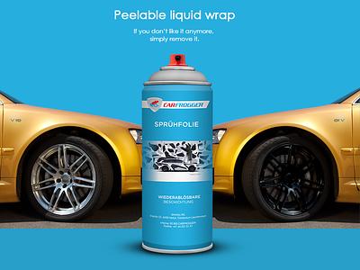Carfrogger liquid wrap premium alternative plasti dip liquid wrap carfrogger aerosol