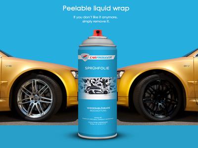 Carfrogger liquid wrap