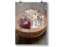 Not Another Pot Noodle Poster