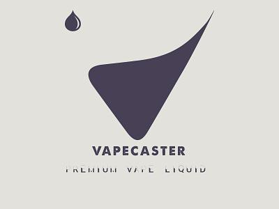 Vapecaster Logo V e-liquid e-cig vaping smoke liquid vape v logo