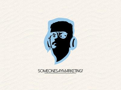 Mascot design for Someonesaymarketing vector icon illustration logo design branding
