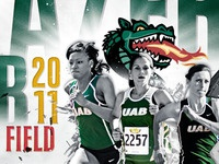 UAB 2011 Track & Field Poster