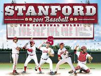 Stanford Baseball Poster