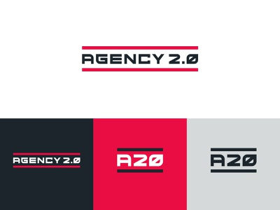 Agency 2.0 logo presentation logo concept logo mark logo design visual identity identity graphic design brand design brand identity branding agency