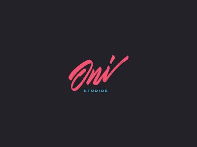 oni studios logo brand identity visual design sports graphic design wordmark digital design gaming esports logo inspiration visual identity brand identity design brandidentity brand design branding logo mark logo design