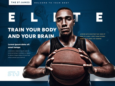 The St. James Creative Direction texture typography soccer dance football basketball gym athletics sports art direction lifestyle branding creative agency graphic design branding creative direction