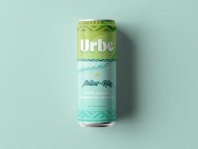 Urbe Branding & Label Design margarita drink food and bev cpg cannabis beverage label design packaging visual identity brand identity logo branding graphic design
