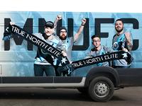 MNUFC Van Wrap, Take 2