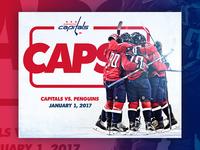 Capitals Season Graphics