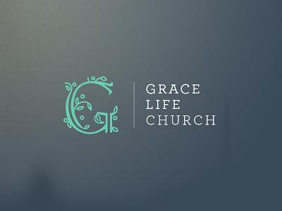 Grace Life Church visual identity iowa grace ministry church g monogram brand identity branding logo