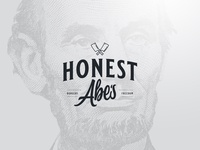 Honest Abe's Logo Concept v2
