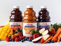 Final Dr. Smoothie Branding & Label Designs