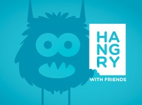 Hangry With Friends Branding