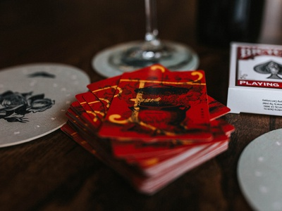Eleanora Playing Cards & Coasters