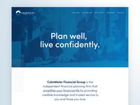 CalmWater Website