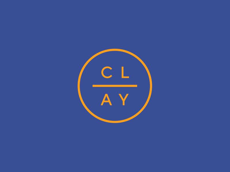 Clay Logo logo designer icon stamp crest minimal construction apartments residential hospitality visual identity brand identity brand design branding logo design