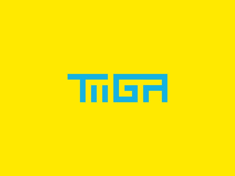 Tiiga Logo Concept brand design beverage design drop-in powder drink liquid hydration beverage sports graphic design visual identity brand identity branding logo design logo concept