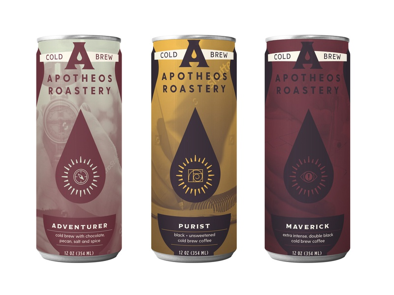 Apotheos Roastery Unused Can Designs Pt. I monoline icon monoline monoline illustration design branding coffee branding coffee brand icon design icon cold brew coffee can cold brew can cold brew cold brew coffee coffee packaging design packaging can design can