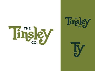The Tinsley Co Pt. II wedding photographer branding photographer branding wedding photographer photographer green emblem groovy retro typography type logotype branding brand logo