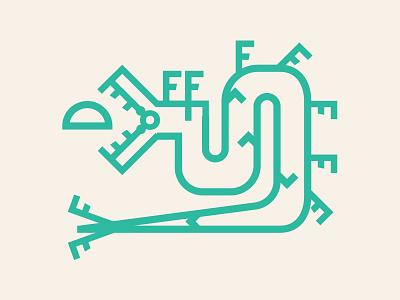 Illustration Set for My Neighbor Felix restaurant illustration restaurant branding mexican restaurant iconography lineart ancient logo illustration
