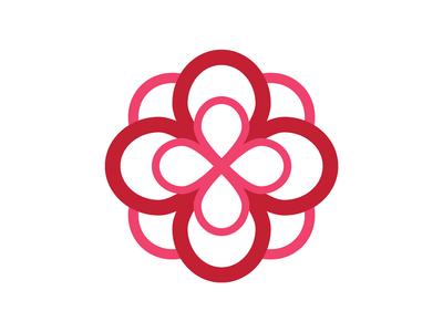 Alpha Omicron Pi Infinity Rose By Natalie Suarez Dribbble