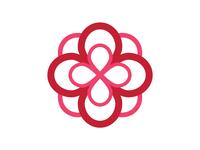 Alpha Omicron Pi Infinity Rose