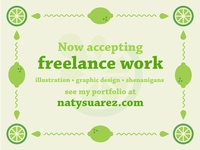 Available for Freelance