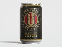 Urban Tree Fan Cider No.17 — Blacked Out Can