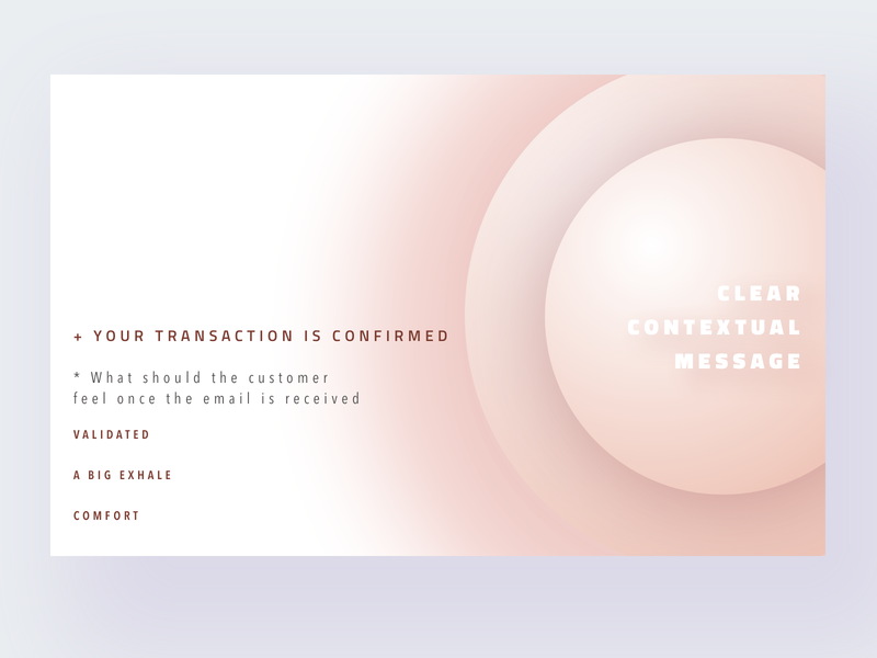 Daily UI 17 Email Receipt design email receipt typography ux geometry card gradient ui daily dailyui017 dailyui