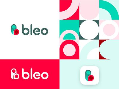 Bleo Logo minimal branding vector typography logodesign ideas design