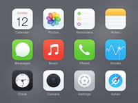 Icons Redesign @2x