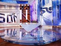 NBC Sochi Olympic Set Design