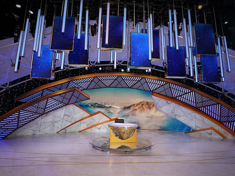 NBC PyeongChang Winter Olympics Studio A olympics news scenicdesign cinema4d c4d setdesign