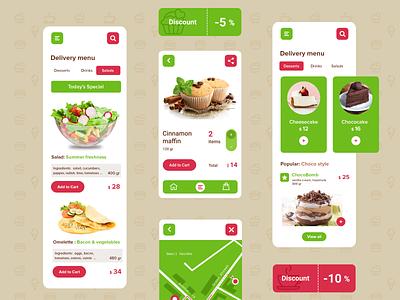 Food Delivery Mobile application cafe food delivery apps mobile design food delivery apps digital design logo ui ux branding mobile application product design