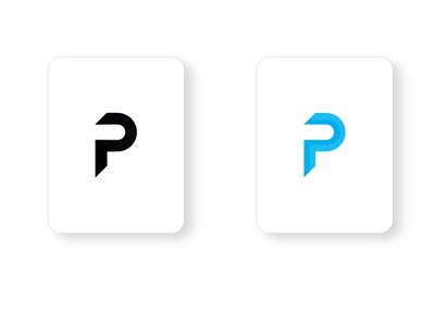 P Logo Design logo icon app vector design branding