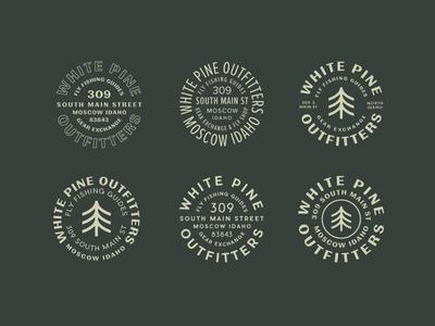 White Pine Badges